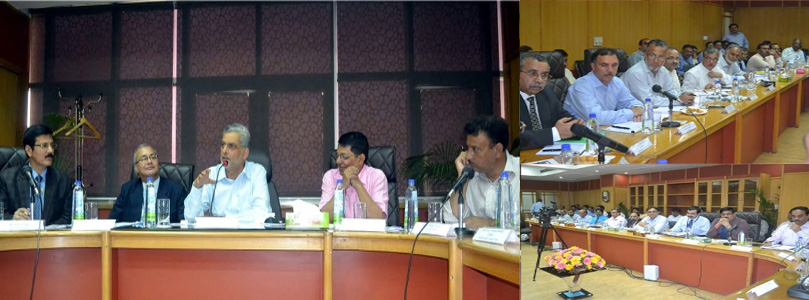Special SLBC meeting for taking stock of the post-flood situation in J&K - 23-09-2014