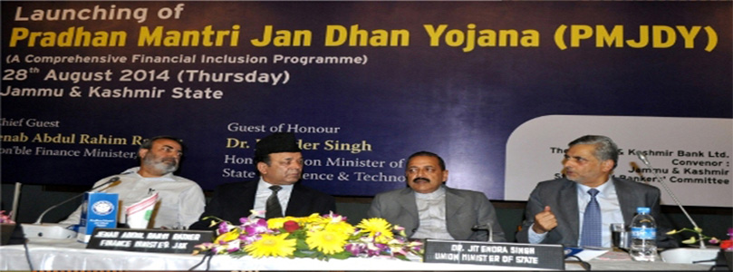 Launching of PMJDY - 28-08-2014