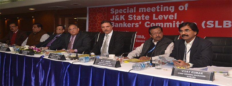 Special Meeting of J&K SLBC- 13-12-2016
